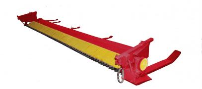 A device for harvesting soybeans