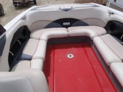 Boat with engine MONSOON