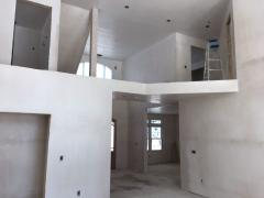 Construction of a house from a gas block Kiev price. Gas block house