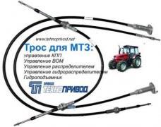 Control cables: cat, fuel pump, TPS, clutch, gas, bus