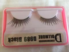False eyelashes Dollmore Black D989