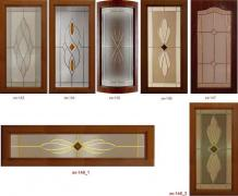 Stained glass windows. Production of artistic stained-glass windows