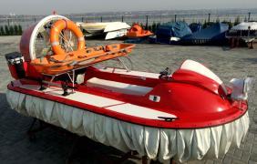 The hovercraft hovercraft Tornado F50