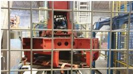 "Used vibropress automatic line ""5 Bloсs"" (400-450 m2 / shift)"